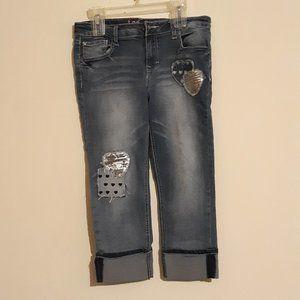 Lee Jeans Cuffed Crop